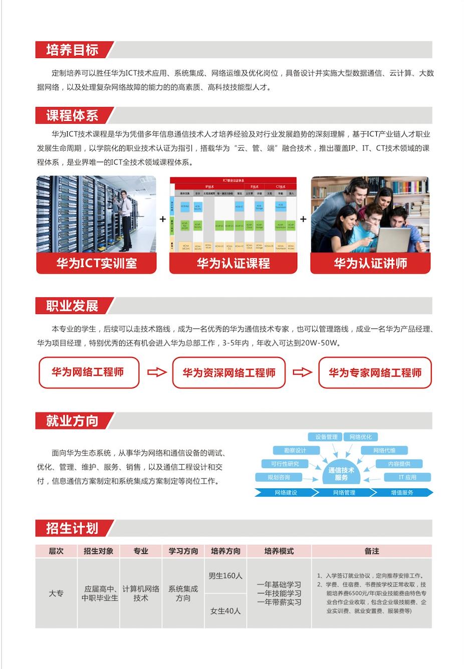 河南质量工程职业学院特色班、课程体系、就业方向、招生计划